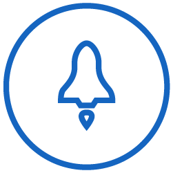 Testing and launch icon
